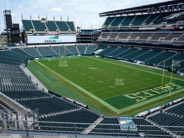 Lincoln Financial Field Section M 8 view