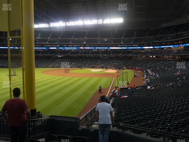 Minute Maid Park Section 104 view