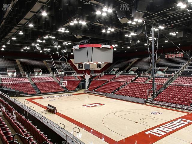 Maples Pavilion Section 13 view