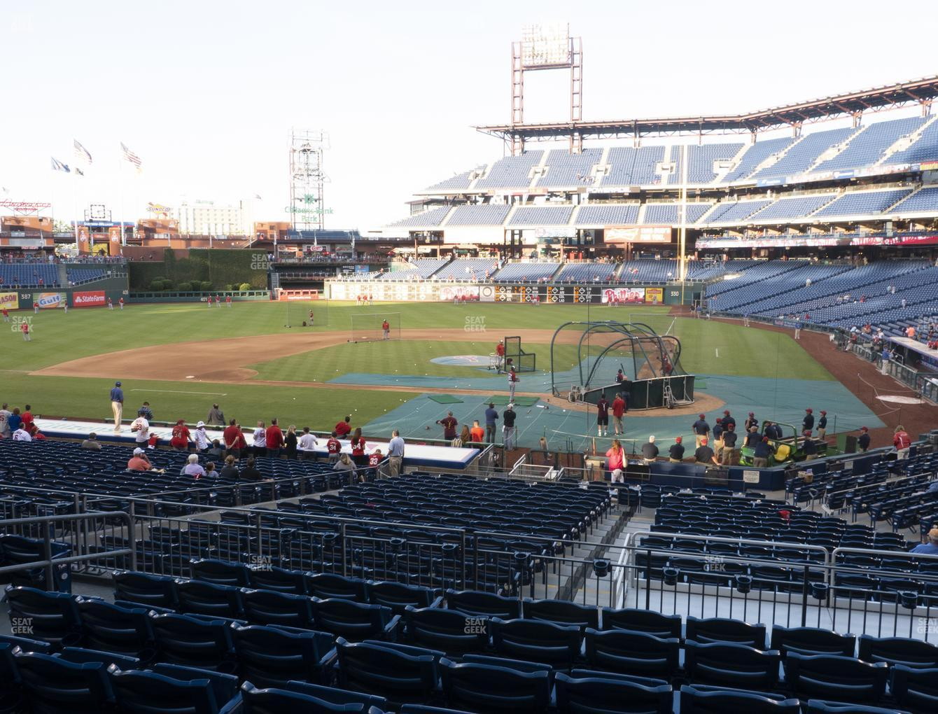 Philadelphia Phillies at Citizens Bank Park Section 127 View