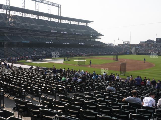 Coors Field Section 119 view