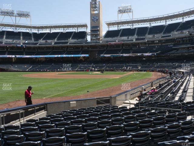 Petco Park Section 122 view