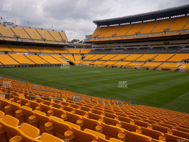 Heinz Field Section 139 view
