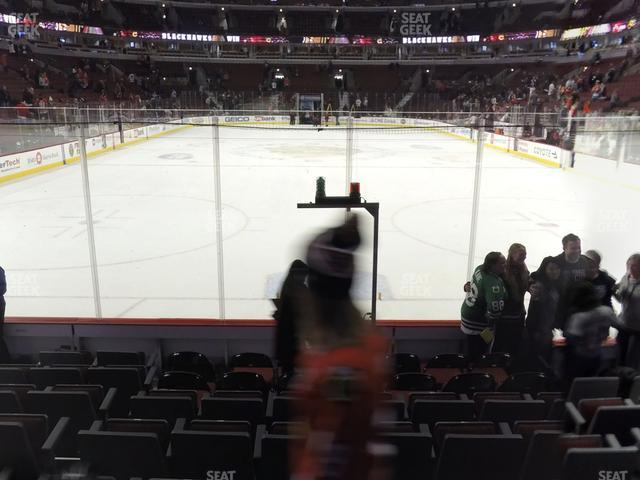 United Center Section 106 view