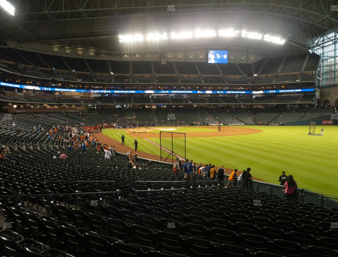 Houston Astros at Minute Maid Park Section 134 View