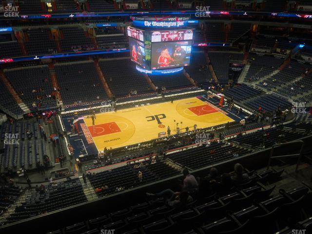 Capital One Arena Section 432 view