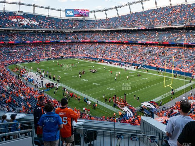 Empower FIeld at Mile High Section 300 view