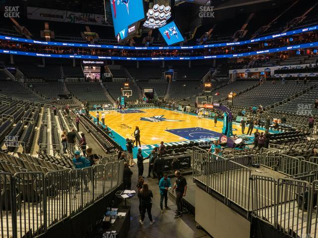 Spectrum Center Section 111 view