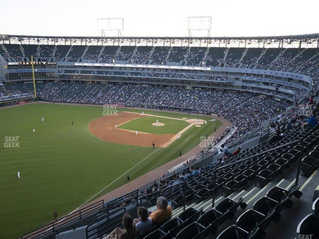 Guaranteed Rate Field Section 554 view