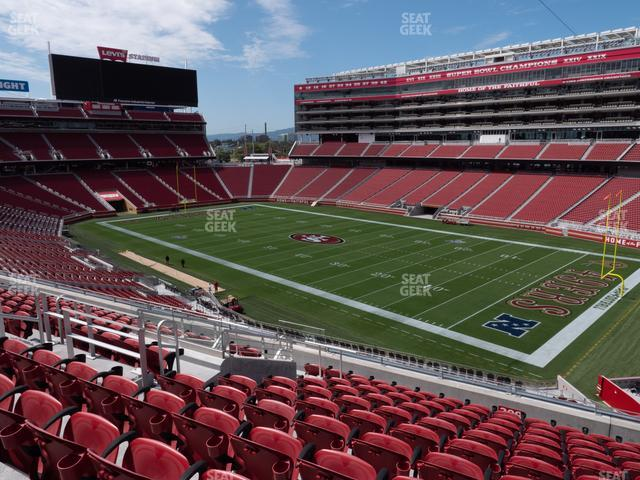 Levi's Stadium Section 209 view
