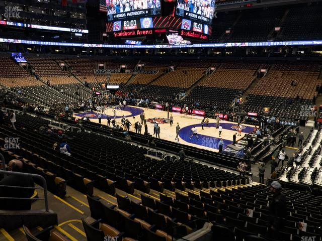 Scotiabank Arena Section 106 view