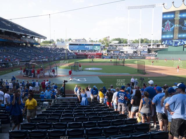 Kauffman Stadium Section 132 view