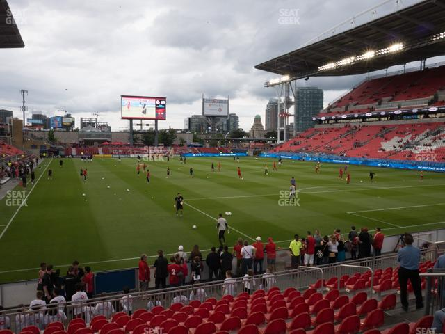 BMO Field Section 117 view