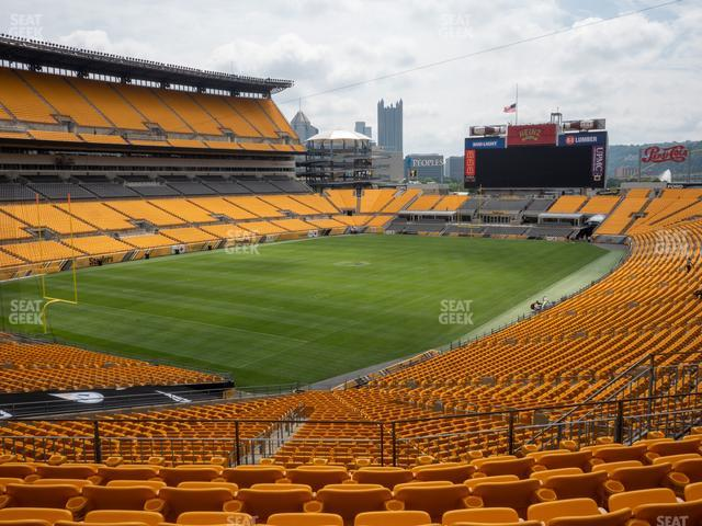 Heinz Field Section 227 view