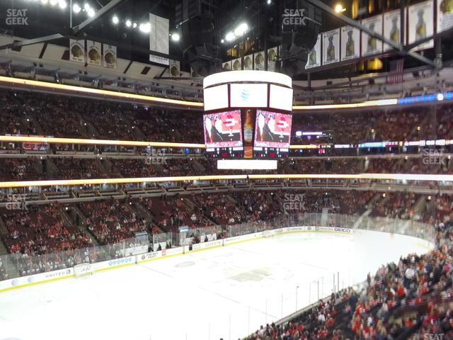 United Center Section 221 view