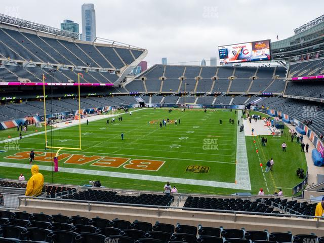 Soldier Field Section 220 view