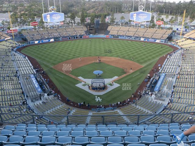 Dodger Stadium Section Top Deck 1 view