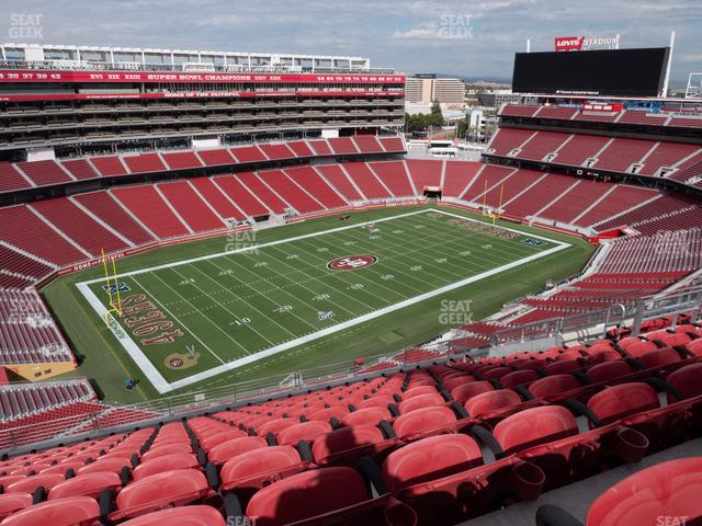 Levi's Stadium Section 417 view