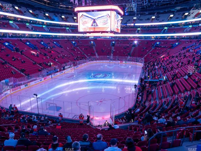 Bell Centre Section 118 view
