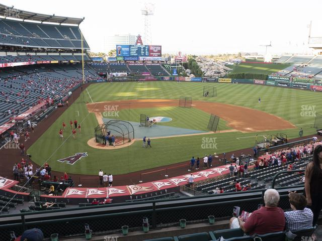Angel Stadium of Anaheim Section 330 view