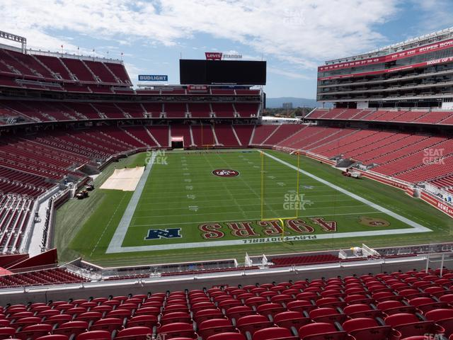 Levi's Stadium Section 204 view