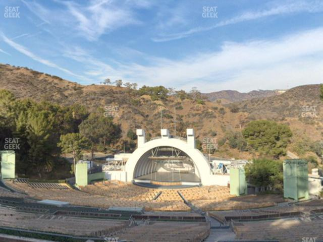 Hollywood Bowl Section R 2 view