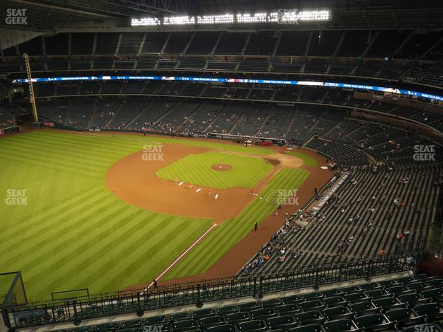 Minute Maid Park Section 406 view
