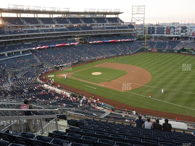 Nationals Park Section 222 view