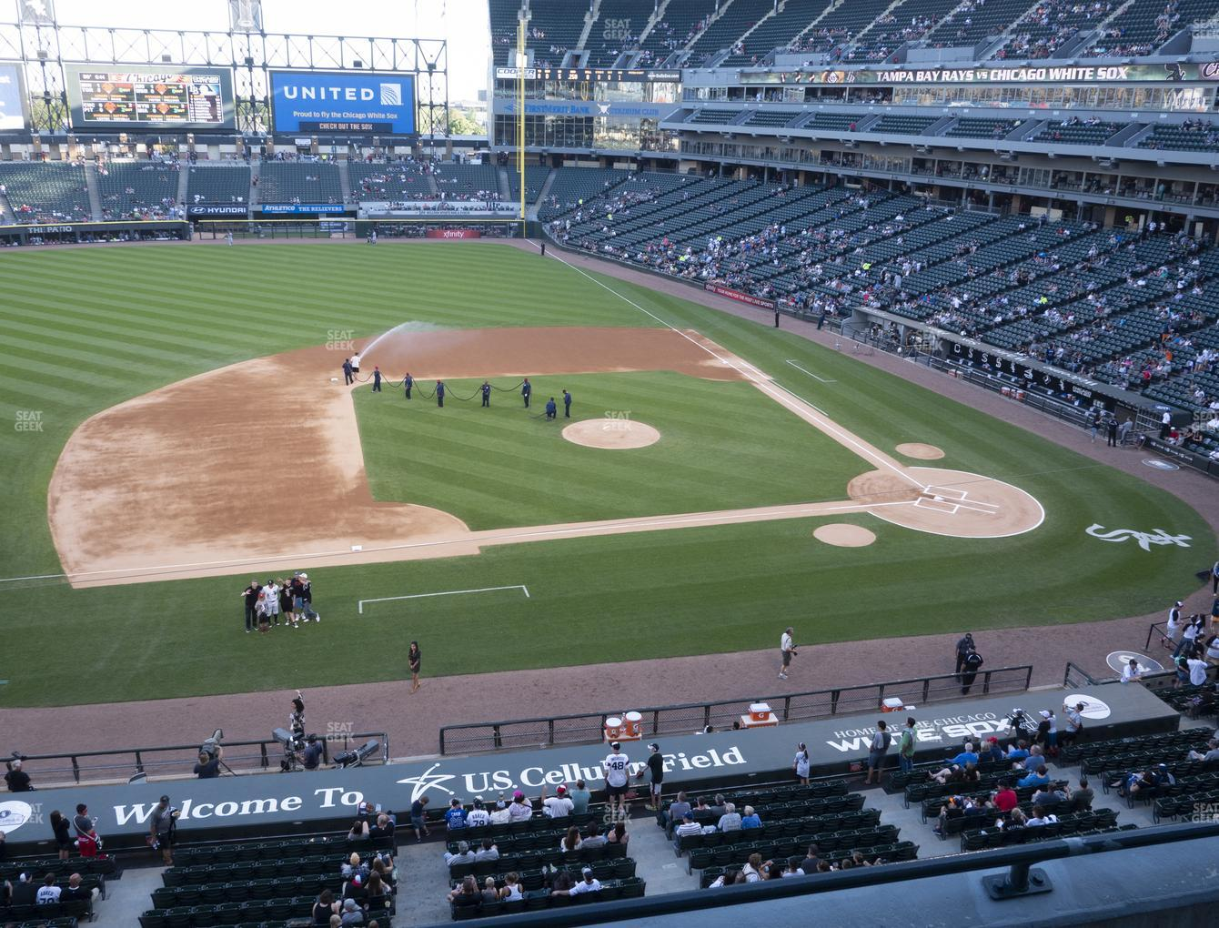 Chicago White Sox at Guaranteed Rate Field Section 340 View