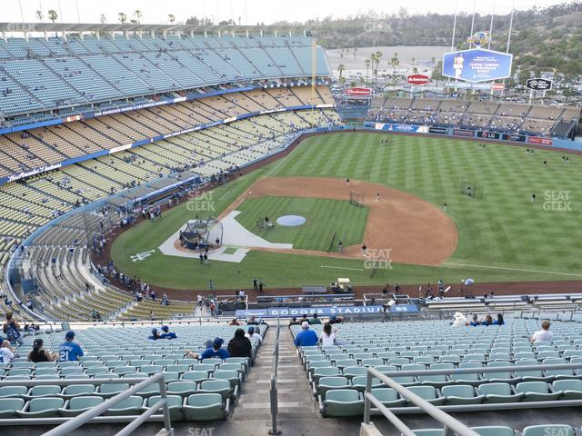Dodger Stadium Reserve 14 view