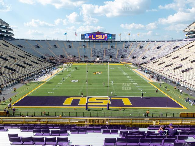 LSU Tiger Stadium Section 417 view