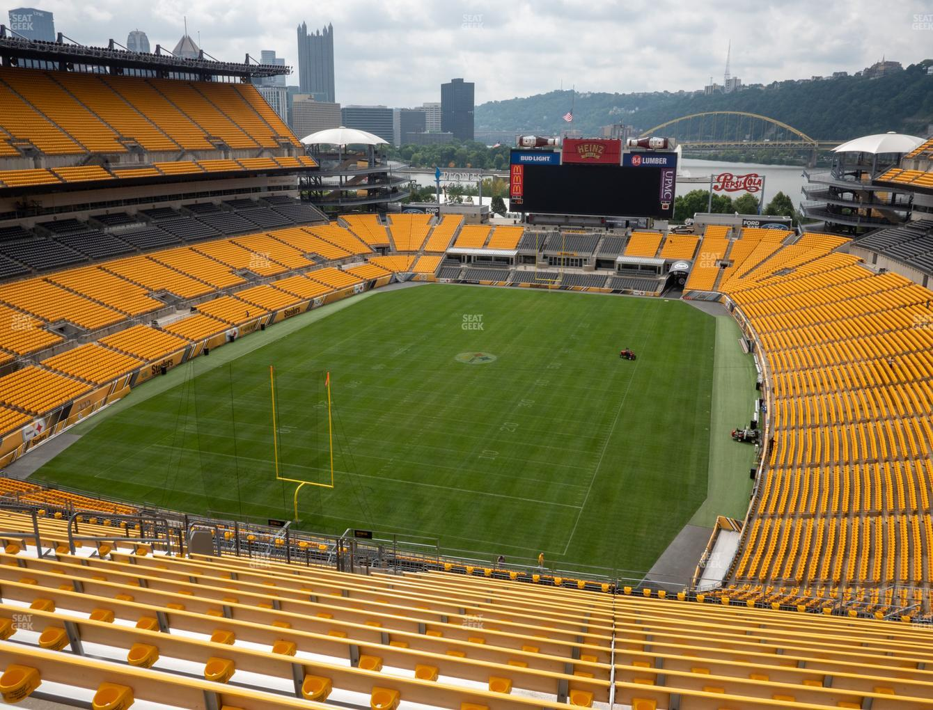 Pittsburgh Steelers at Heinz Field Section 525 View