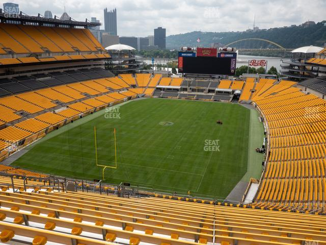 Heinz Field Section 525 view