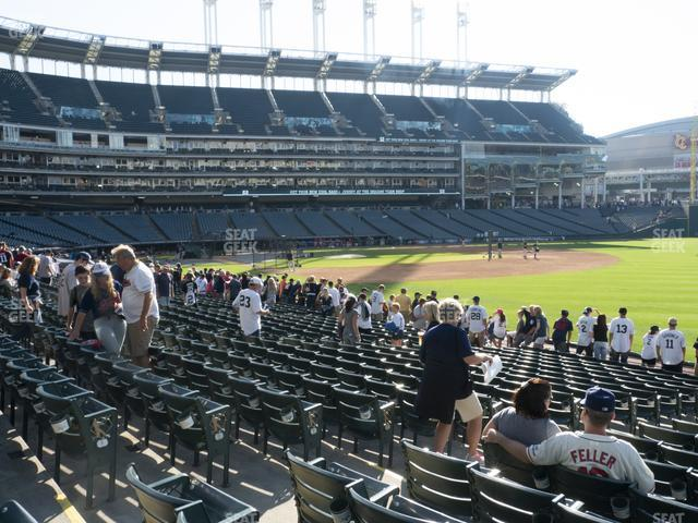 Progressive Field Section 129 view