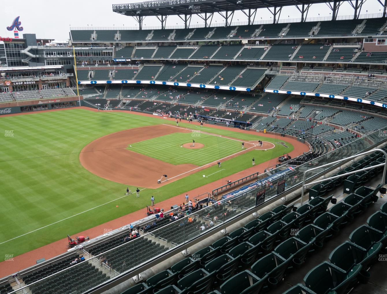 Atlanta Braves at SunTrust Park Section 339 View