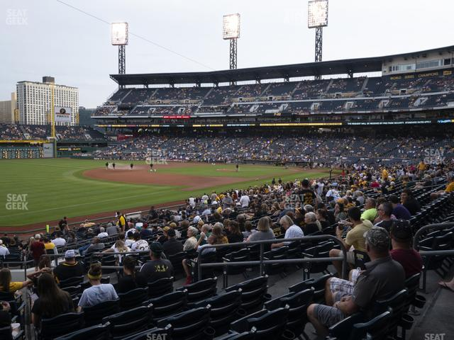 PNC Park Section 129 view