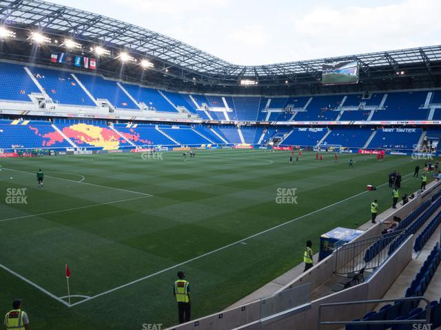 Red Bull Arena Section 114 View