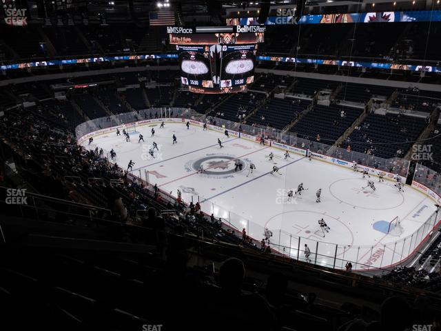 Bell MTS Place Section 317 view