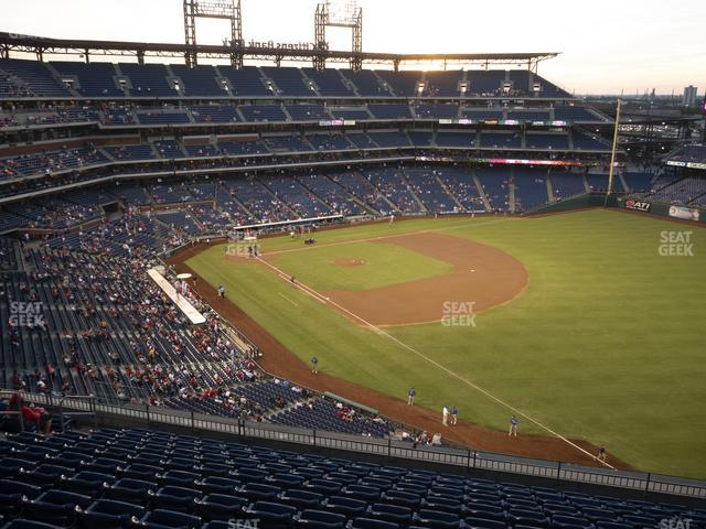 Citizens Bank Park Section 309 view