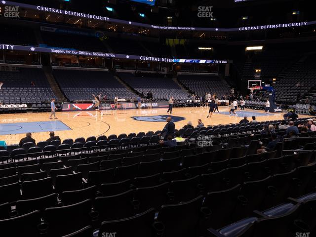 FedExForum Section 113 view
