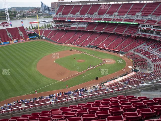 Great American Ball Park Section 514 view