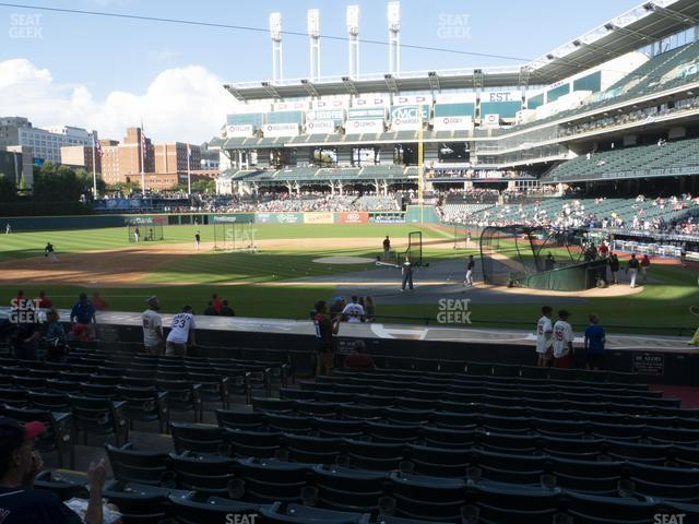 Progressive Field Section 159 view