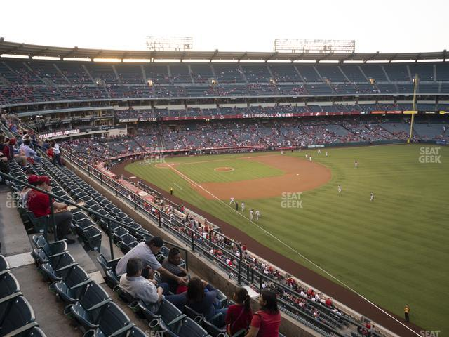 Angel Stadium of Anaheim Section 431 view