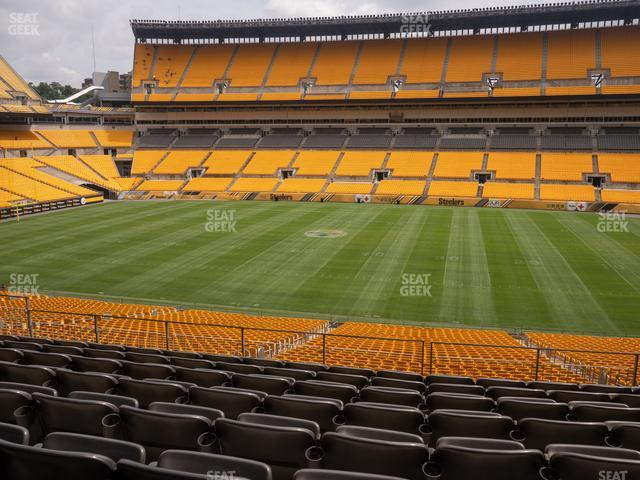 Heinz Field Section 236 view
