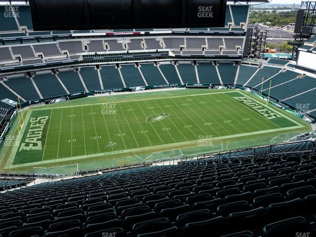 Lincoln Financial Field Section 223 view