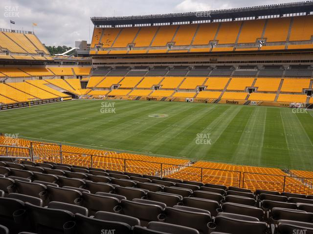 Heinz Field Section 237 view