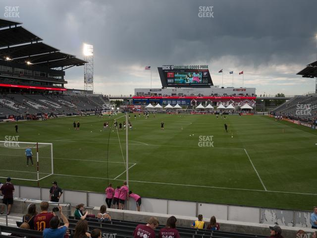 Dick's Sporting Goods Park Section 116 view