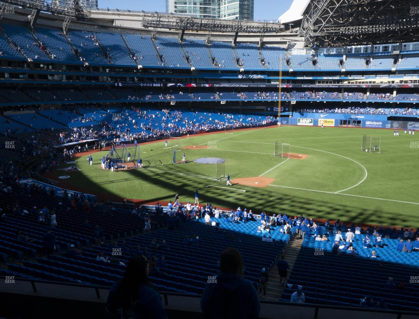 Toronto Blue Jays at Rogers Centre Section 216 R View