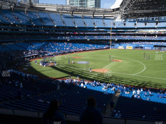 Rogers Centre Section 216 R view