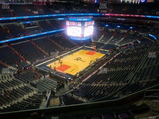 Capital One Arena Section 429 view